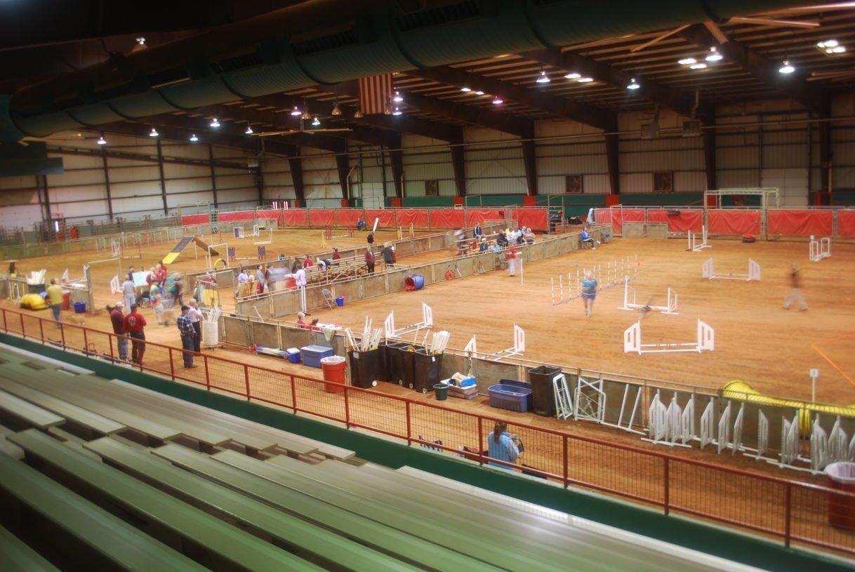 Ag Center Arena for agility.